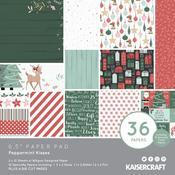 Peppermint Kisses 6.5 x 6.5 Kaisercraft Paper Pad