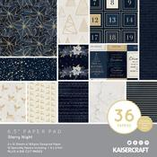 Starry Night Kaisercraft 6.5 x 6.5 Paper Pad