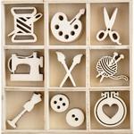 Crafternoon Wood Flourishes - KaiserCraft