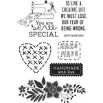 Crafternoon Clear Stamps - KaiserCraft
