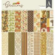 Gracious 12 x 12 Paper Pad - Authentique