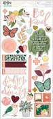 Willow Foiled Sticker Sheet - OneCanoeTwo