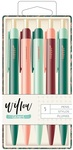 Willow Colorful Ballpoint Pen Set - OneCanoeTwo