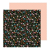 Flower Patch Paper - This Is Family - Pebbles