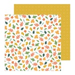 Scattered Leaves Paper - This Is Family - Pebbles
