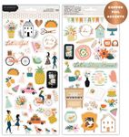 This Is Family Copper Foiled Sticker Sheets - Pebbles - PRE ORDER