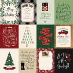 3X4 Journaling Cards Paper - A Cozy Christmas - Echo Park
