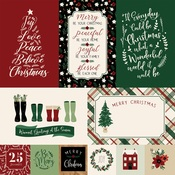 Journaling Cards Paper - A Cozy Christmas - Echo Park