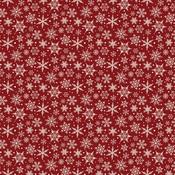 Snowflakes Paper - A Cozy Christmas - Echo Park