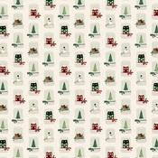 Snow Globes Paper - A Cozy Christmas - Echo Park