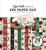 A Cozy Christmas 6x6 Paper Pad - Echo Park