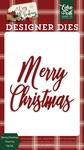 Merry Christmas #4 Word Die Set - Echo Park