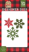 Festive Snowflakes Die Set - Echo Park