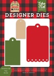Christmas Gift Tags Die Set - Echo Park