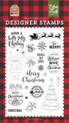 Be Merry Stamp Set - Echo Park