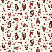 Jingle All The Way Paper - Here Comes Santa Claus - Echo Park