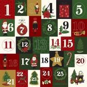 Twenty-Five Days Paper - Here Comes Santa Claus - Echo Park