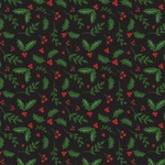 Holly Berries Paper - Here Comes Santa Claus - Echo Park