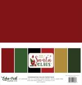 Here Comes Santa Claus Solids Kit - Echo Park