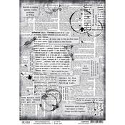 Our Love Words, Loving In The Rain A4 Rice Paper Sheet