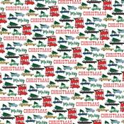 Tree Shopping Paper - Merry Christmas - Carta Bella