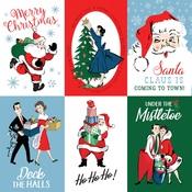 4X6 Journaling Cards Paper - Merry Christmas - Carta Bella