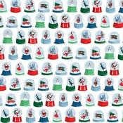 Snow Globes Paper - Merry Christmas - Carta Bella