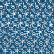 Snowflakes Paper - Merry Christmas - Carta Bella