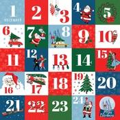 Countdown To Christmas Paper - Merry Christmas - Carta Bella