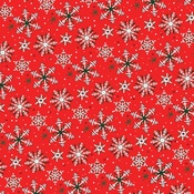Christmas Snow Paper - Merry Christmas - Carta Bella