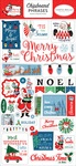 Merry Christmas Chipboard Phrases - Carta Bella