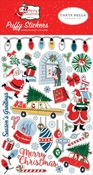Merry Christmas Puffy Stickers - Carta Bella