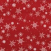 Snowflakes Paper - Christmas Market - Carta Bella