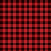 Buffalo Plaid Paper - Christmas Market - Carta Bella