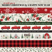 Border Strips Paper - Christmas Market - Carta Bella