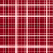 Christmas Plaid Paper - Christmas Market - Carta Bella