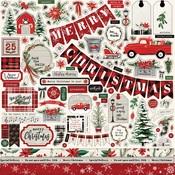 Christmas Market Element Sticker - Carta Bella