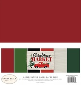 Christmas Market Solids Kit - Carta Bella