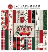 Christmas Market 6x6 Paper Pad - Carta Bella