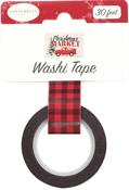 Christmas Buffalo Washi Tape - Carta Bella