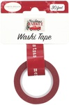 Christmas Greetings Washi Tape - Carta Bella