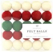 Christmas Felt Ball Multi Pack - Carta Bella