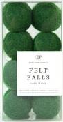 Green Wool Felt Ball Pack - Carta Bella