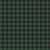 Green Buffalo Plaid Paper - Buffalo Plaid No 1 - Carta Bella
