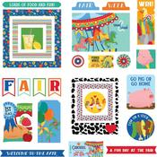 State Fair Ephemera Cardstock Die-Cuts - Photoplay