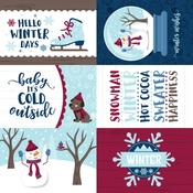 4X6 Journaling Cards Paper - My Favorite Winter - Echo Park