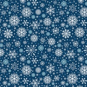 Sparkling Snowflakes Paper - My Favorite Winter - Echo Park