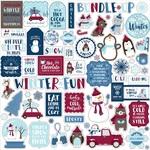 My Favorite Winter Element Sticker - Echo Park