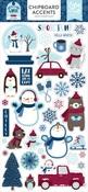 My Favorite Winter Chipboard Accents - Echo Park