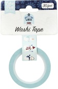 Sweet Snowman Washi Tape - Echo Park